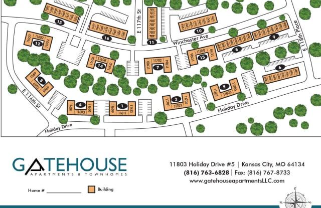 Gatehouse - 11803 Holiday Dr, Kansas City, MO 64134