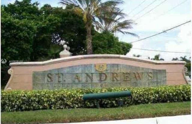12136 Saint Andrews Pl - 12136 Saint Andrews Place, Miramar, FL 33025