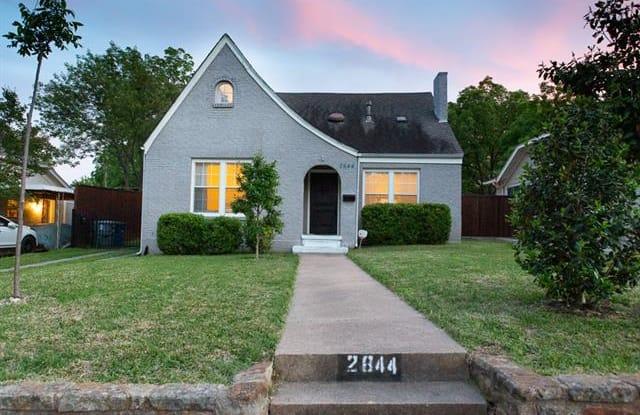 2844 Alden Avenue - 2844 Alden Avenue, Dallas, TX 75211