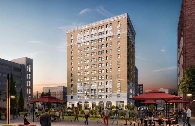 Eddystone Apartments - 2701 Park Avenue, Detroit, MI 48201