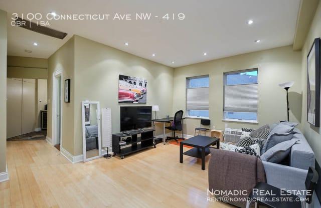 3100 Connecticut Ave NW Apt 419 - 3100 Connecticut Ave NW, Washington, DC 20008