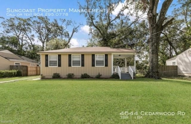 4644 Cedarwood Rd - 4644 Cedarwood Rd, Jacksonville, FL 32210