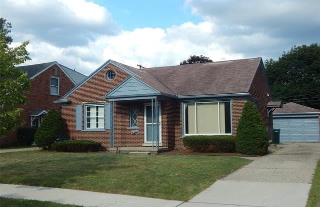 1421 WHITTIER Place - 1421 Whittier Place, Dearborn, MI 48124