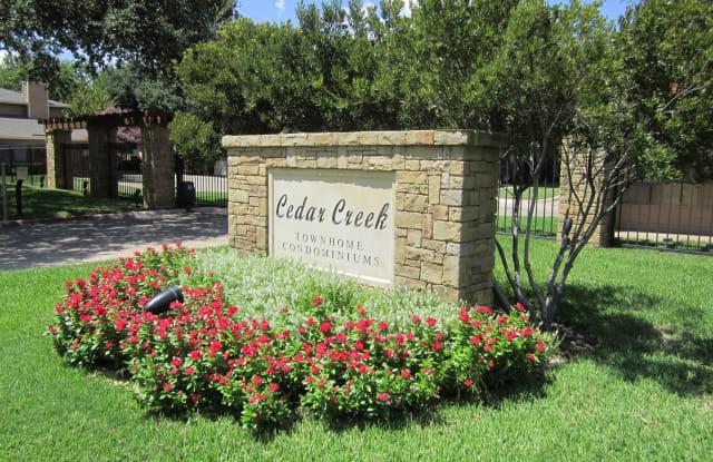 5729 Cedar Creek Drive - 5729 Cedar Creek Drive, Benbrook, TX 76109