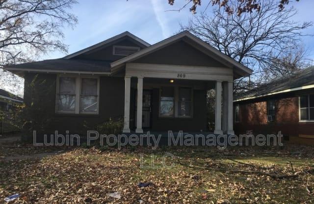869 Garland St - 869 Garland Street, Memphis, TN 38107
