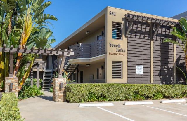 Elan Beachlofts - 852 Chalcedony Street, San Diego, CA 92109
