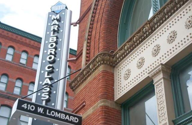 Marlboro Classic & Redwood Square - 410 W Lombard St, Baltimore, MD 21201