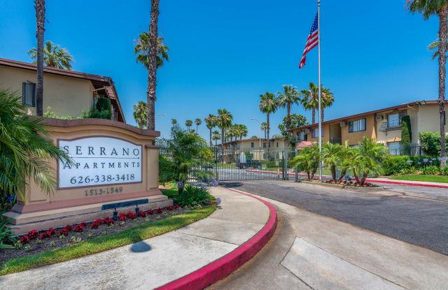 Serrano Apartments - 1513 W. San Bernardino Rd, West Covina, CA 91790
