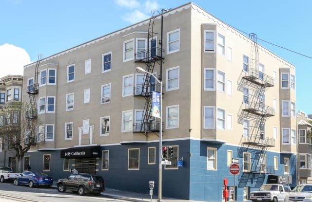 1499 California St - 1499 California Street, San Francisco, CA 94109