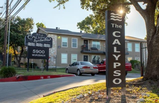 Calypso Apartments - 5900 Wurzbach Rd, San Antonio, TX 78238