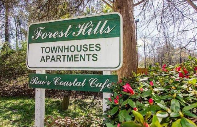 Forest Hills Racquet Club - 800 Cross Court Dr, Augusta, GA 30909