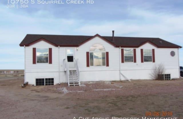 10750 S Squirrel Creek Rd - 10750 S Squirrel Creek Rd, El Paso County, CO 80928