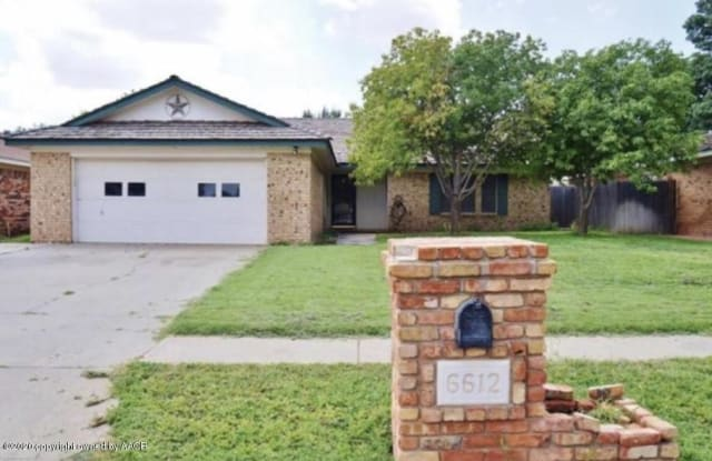 6612 FALCON RD - 6612 Falcon Road, Amarillo, TX 79109
