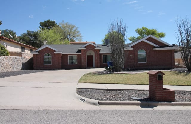 608 EL GUSTO Drive - 608 El Gusto Drive, El Paso, TX 79912