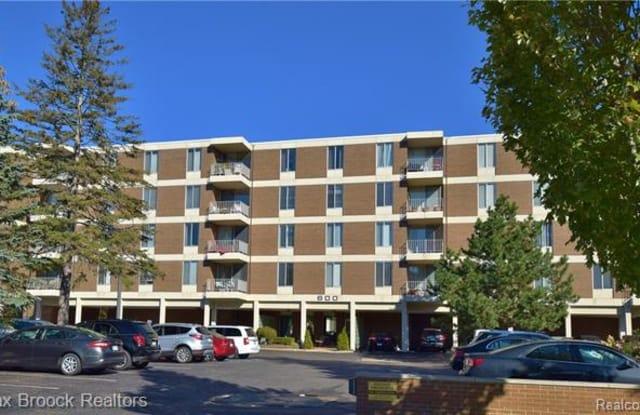 600 W BROWN Street - 600 West Brown Street, Birmingham, MI 48009