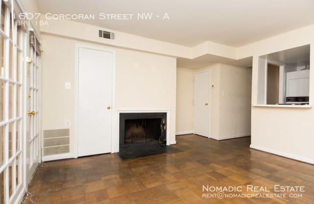 1607 Corcoran St NW Apt A - 1607 Corcoran Street Northwest, Washington, DC 20009