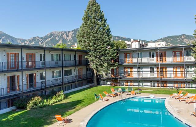 The Lodge - 2900 E Aurora Ave, Boulder, CO 80303