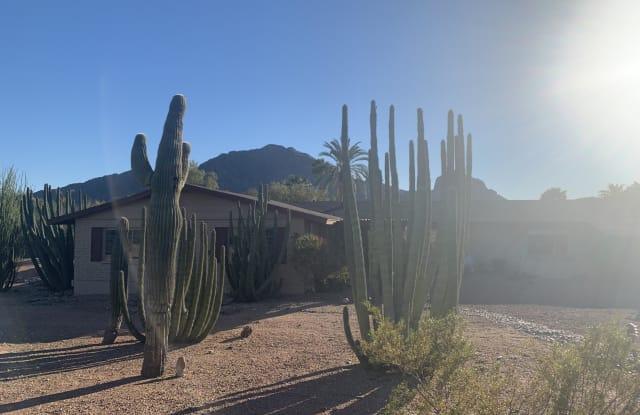5901 E CACTUS WREN Road - 5901 East Cactus Wren Road, Paradise Valley, AZ 85253
