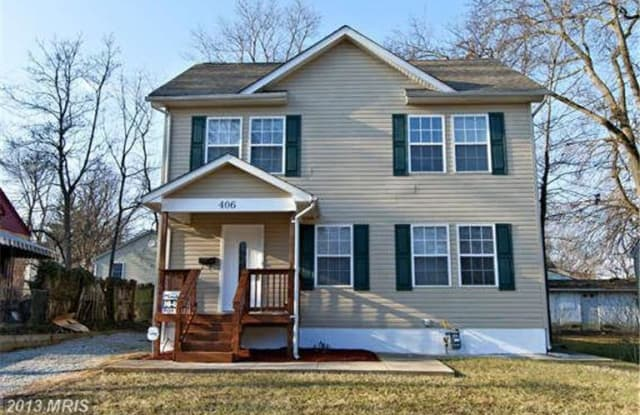 406 70th Pl - 406 70th Place, Seat Pleasant, MD 20743