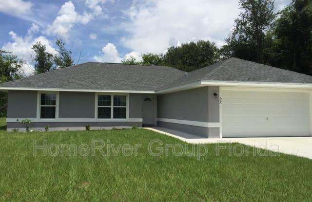 33 Juniper Pass Ter - 33 Juniper Pass Terrace, Marion County, FL 34480