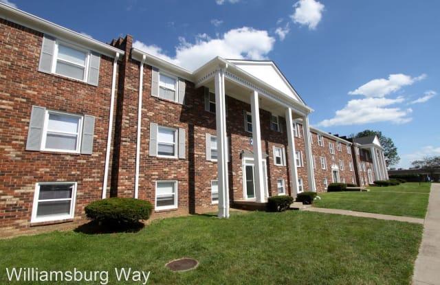 Williamsburg Apartments - 3838 Williamsburg Way, Columbus, IN 47203