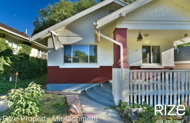 1168 E Sunnyside Ave - 1168 E Sunnyside Ave, Salt Lake City, UT 84102