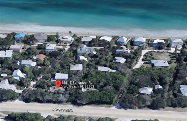 1881 E Sandpiper Road - 1881 East Sandpiper Road, Wabasso Beach, FL 32963