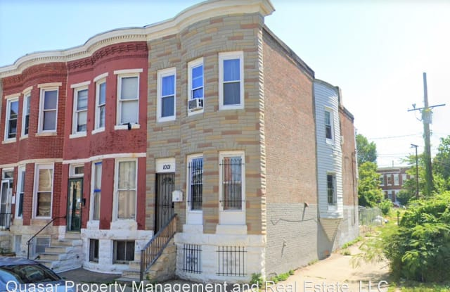 1001 Appleton St - 1001 Appleton Street, Baltimore, MD 21217