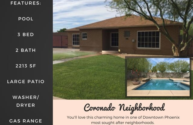 1201 E ALMERIA Road - 1201 East Almeria Road, Phoenix, AZ 85006