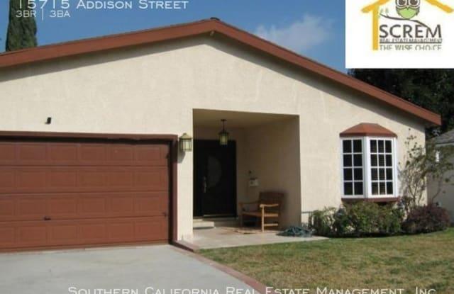 15715 Addison Street - 15715 Addison Street, Los Angeles, CA 91436