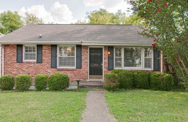 413 Saint Francis Ave - 413 St Francis Avenue, Nashville, TN 37205