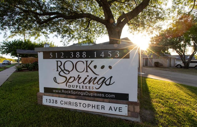 Rock Springs - 1338 Christopher Ave, Round Rock, TX 78681