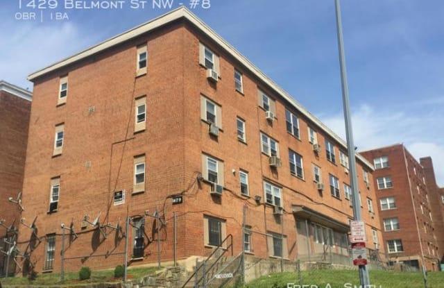 1429 Belmont Street - 1429 Belmont Street Northwest, Washington, DC 20009