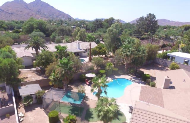 5020 N CHIQUITA Lane - 5020 North Chiquita Lane, Scottsdale, AZ 85253