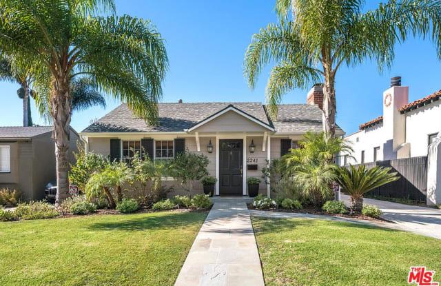 2241 PROSSER Avenue - 2241 Prosser Avenue, Los Angeles, CA 90064