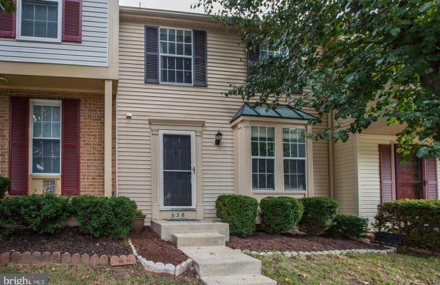 638 CORAL REEF DR - 638 Coral Reef Drive, Gaithersburg, MD 20878