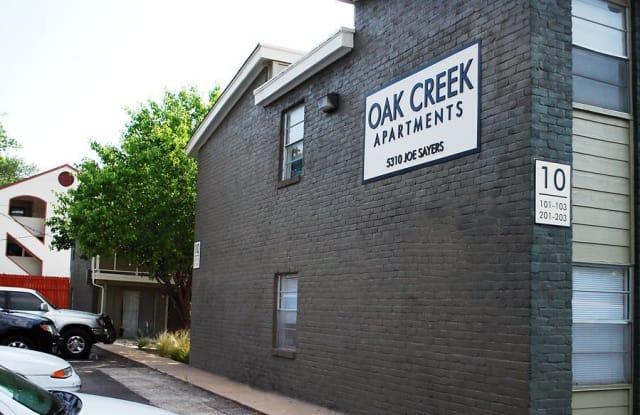 Oak Creek - 1507 Houston St, Austin, TX 78756