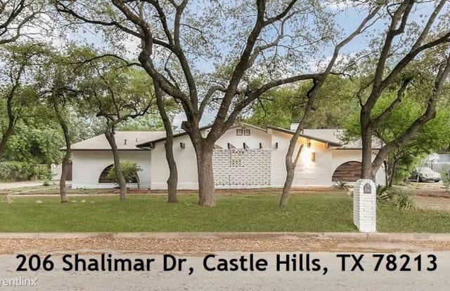 206 Shalimar Dr - 206 Shalimar Drive, Castle Hills, TX 78213