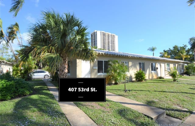 407 53rd St - 407 53rd Street, West Palm Beach, FL 33407