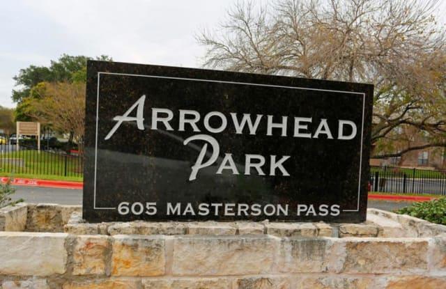 Arrowhead Park Apartments - 605 Masterson Pass, Austin, TX 78753