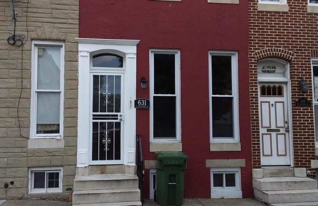 631 N SCHROEDER STREET - 631 North Schroeder Street, Baltimore, MD 21217