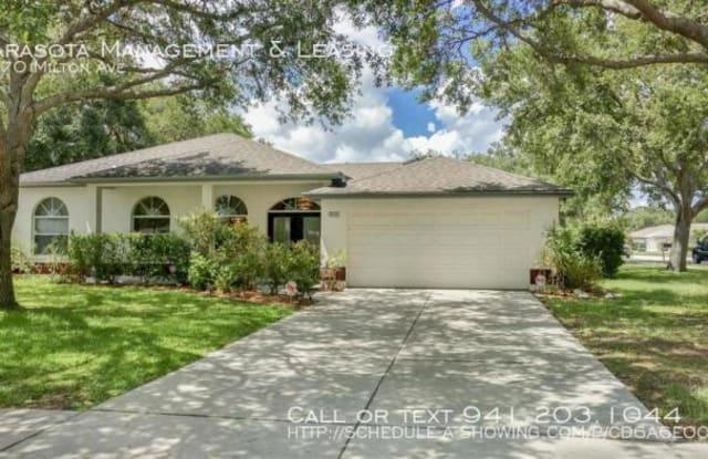 5670 Milton Ave - 5670 Milton Avenue, Sarasota County, FL 34243