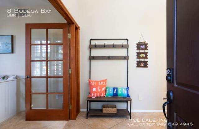 8 Bodega Bay - 8 Bodega Bay, Irvine, CA 92602