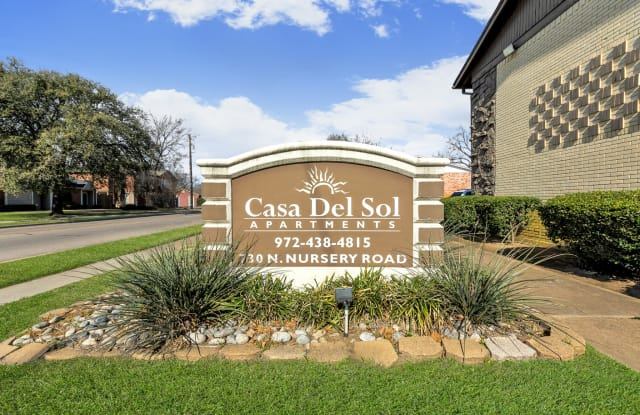 Casa Del Sol - 730 N Nursery Rd, Irving, TX 75061