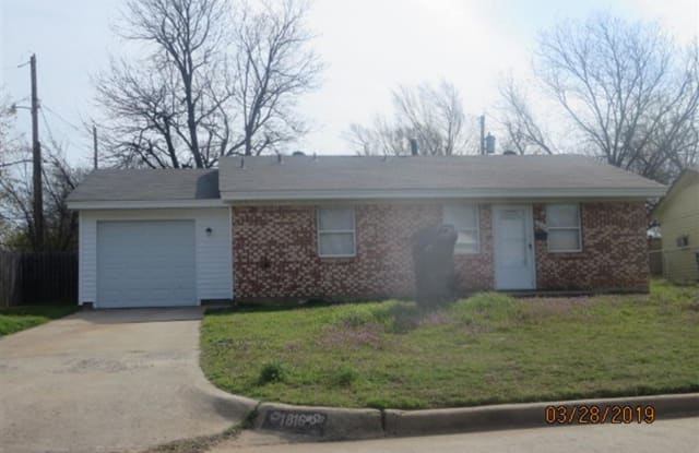 1816 Rulane Dr - 1816 North Rulane Drive, Midwest City, OK 73110