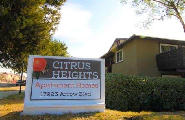 Citrus Heights - 17923 Arrow Boulevard, Fontana, CA 92335