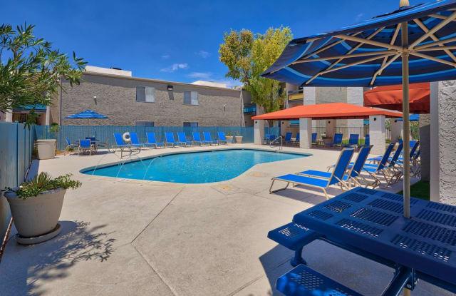 Stonegate Furnished Apartments - 825 S Alma School Rd, Mesa, AZ 85210