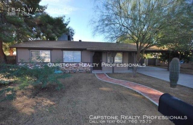 1543 W Andorra Dr - 1543 West Andorra Drive, Phoenix, AZ 85029