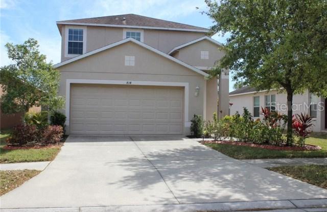 814 COLLEGE LEAF WAY - 814 College Leaf Way, Ruskin, FL 33570