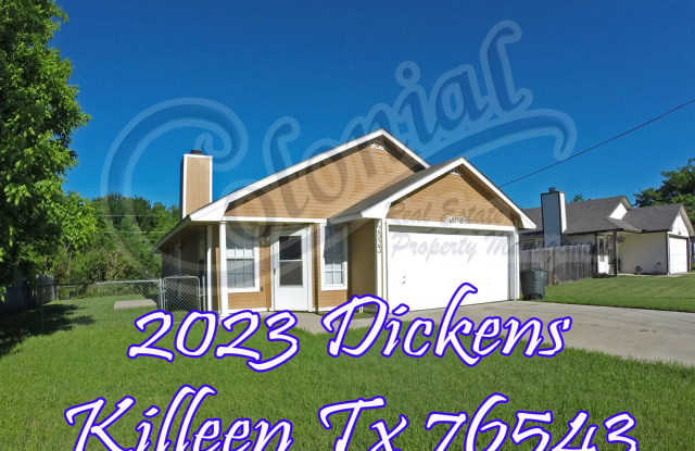 2023 Dickens Dr - 2023 Dickens Drive, Killeen, TX 76543
